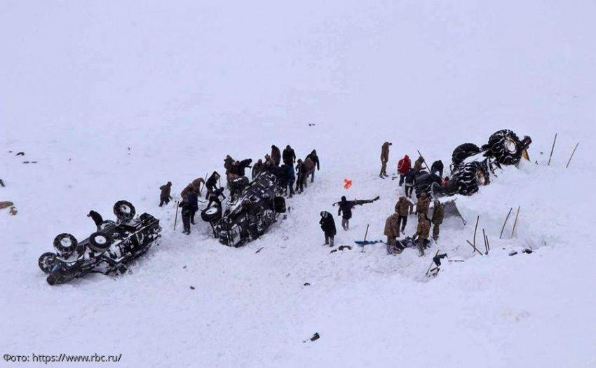 41 человек погиб под лавинами на востоке Турции