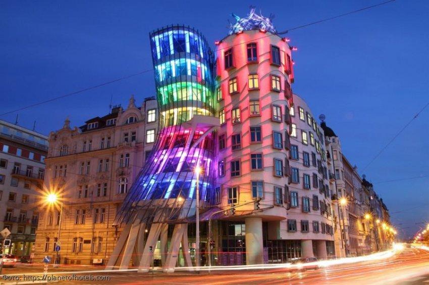 Танцующий дом в Праге - уникальный архитектурный памятник