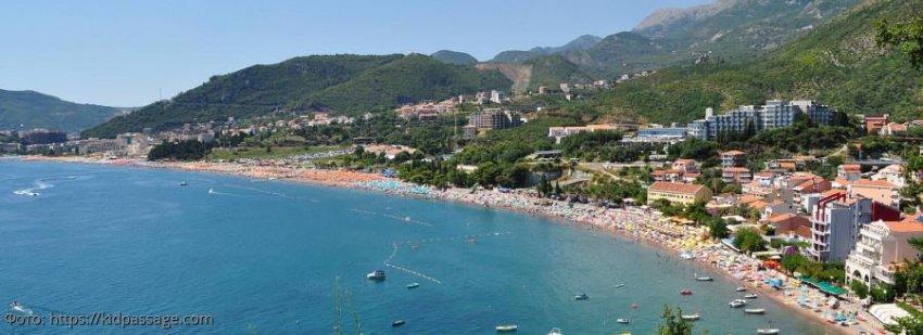 Пляж Бечичи: райское место в Черногории