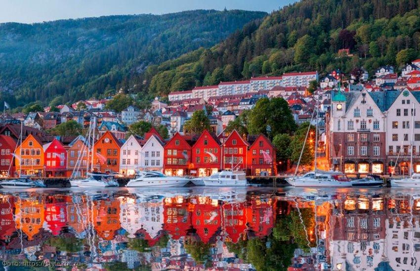 Берген - деревянная столица Европы