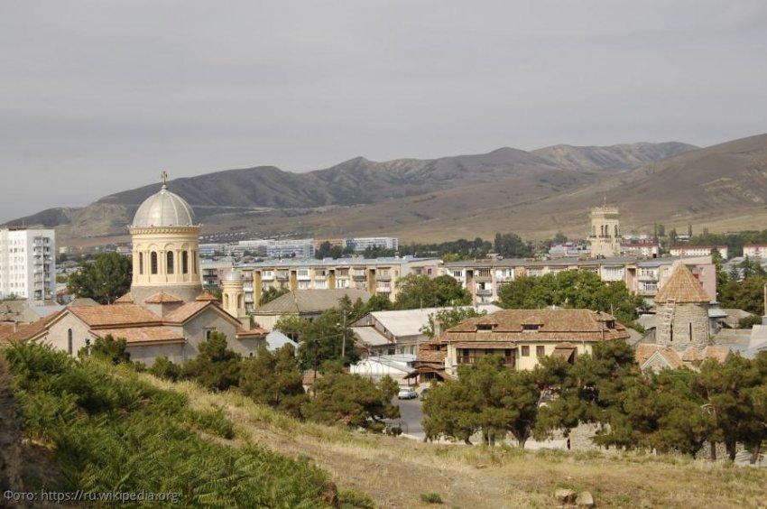 Город Гори - сердце Грузии