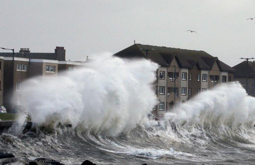 Что стало с Великобританией после ужасного шторма «Сиара»