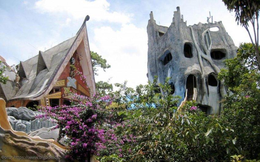 Сумасшедший дом в Далате – самое посещаемое туристическое место