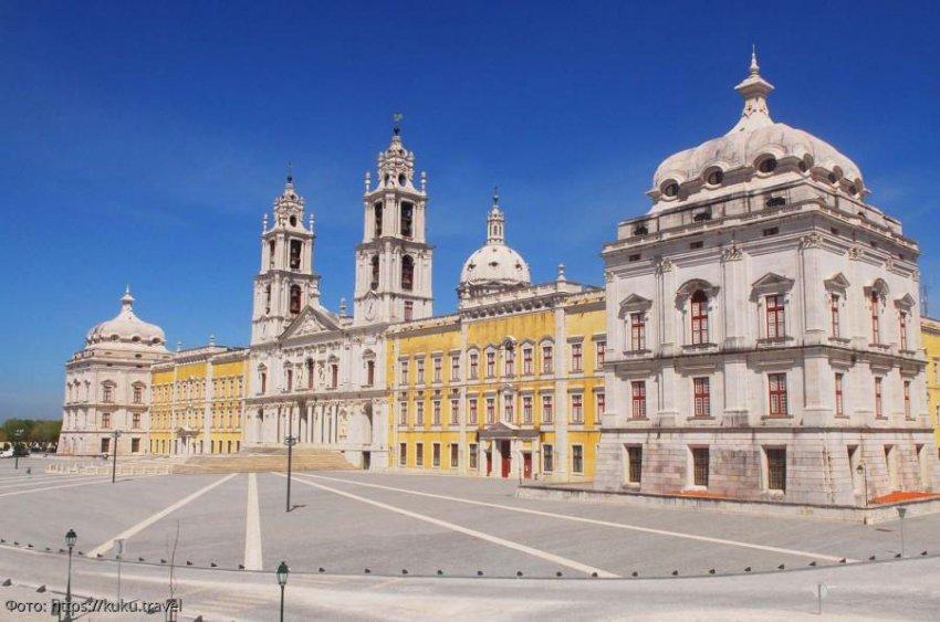 Дворец Мафра – любимая резиденция португальских правителей
