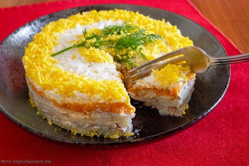 Мимоза: рецепт с фото пошагово