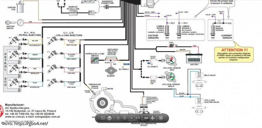 Как устанавливают ГБО 4 поколения на инжекторный автомобиль