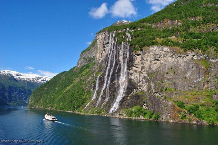Топ-5 самых красивых водопадов Норвегии