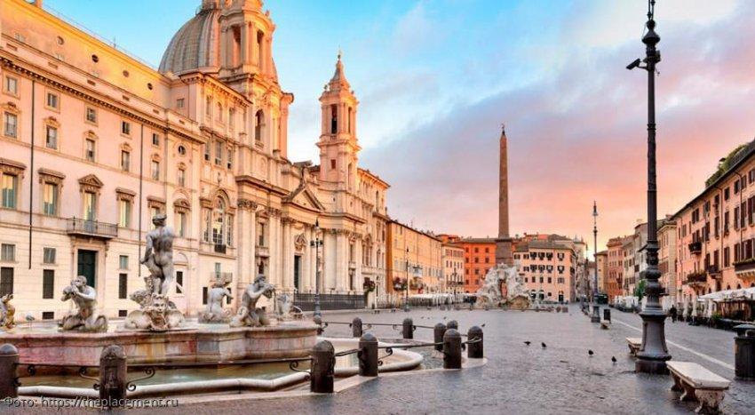 Пьяцца Навона - основная достопримечательность в Риме