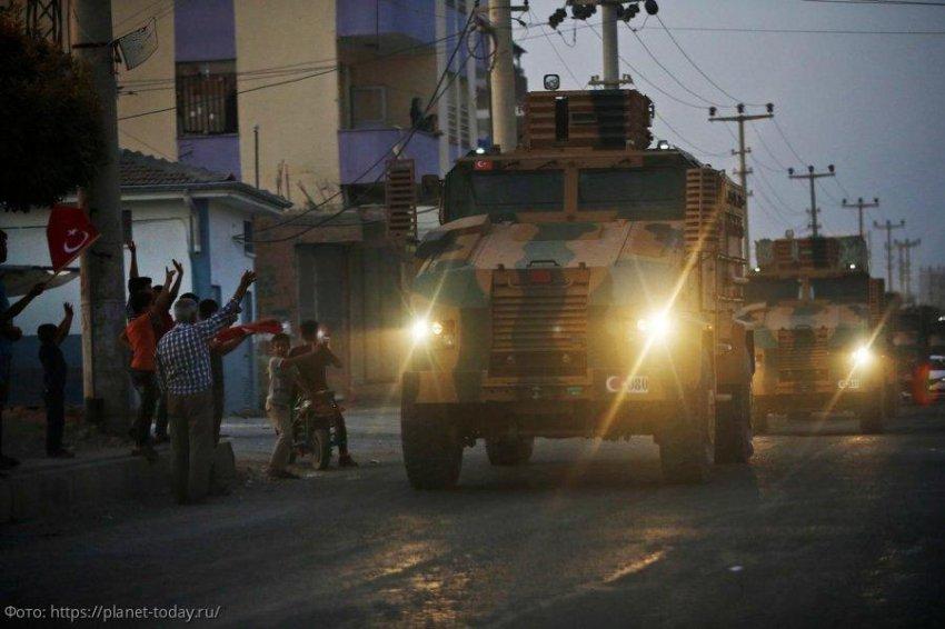Турция преследует в Сирии собственные геополитические интересы