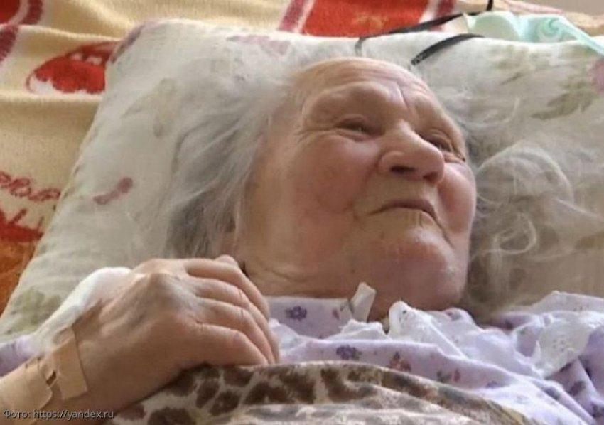 На Украине бабушка ожила спустя 10 часов после смерти, когда внуки уже вырыли могилу