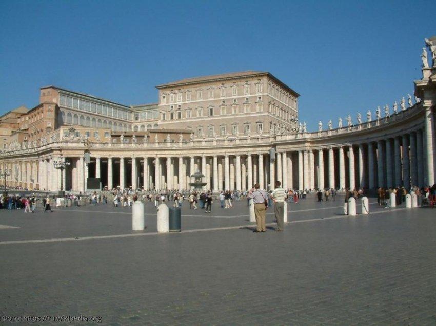 Апостольский дворец – дом Папы Римского