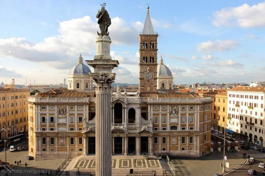 Санта-Мария Маджоре в Риме – идеальное место, чтобы подумать о вечном