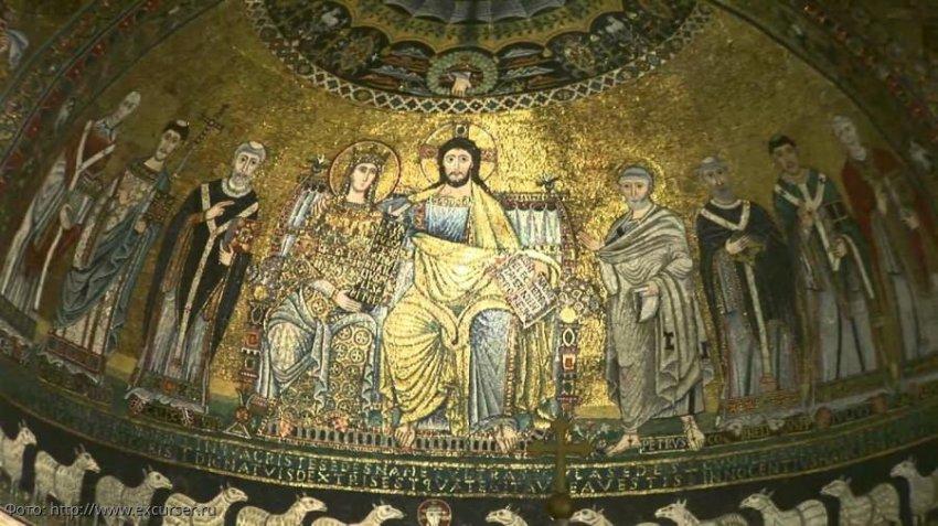 Базилика Санта-Мария-ин-Трастевере – первый храм в Риме, посвящённый Деве Марии