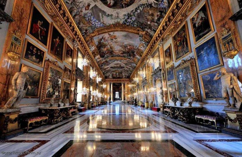 Палаццо Колонна – наследство богатейщей семьи Рима