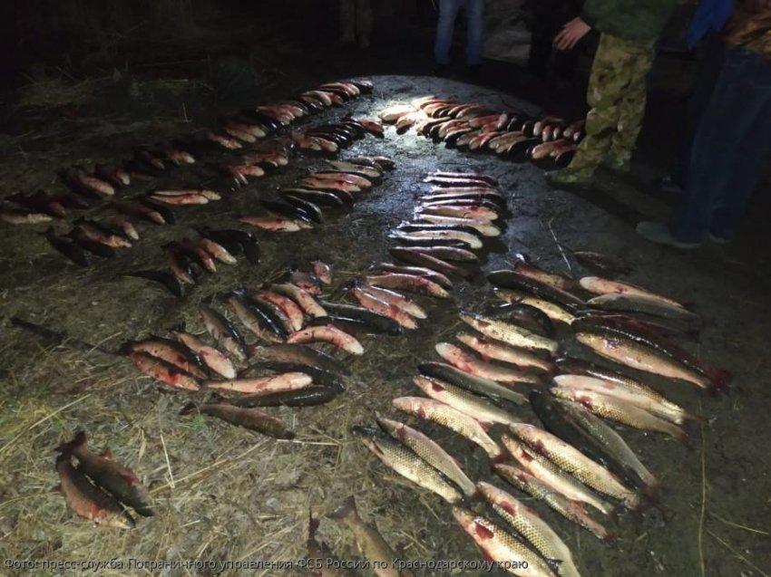 Сотрудниками Погрануправления ФСБ России по Краснодарскому краю выявлены 2 нарушителя Правил рыболовства