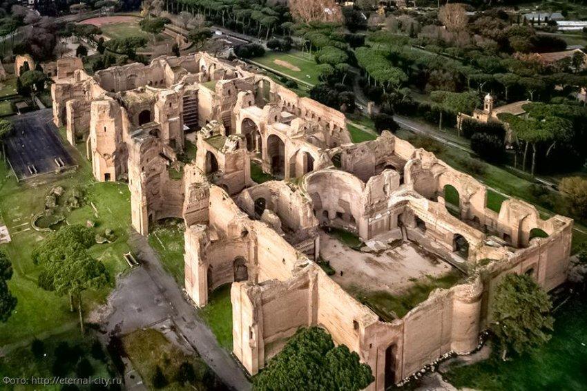 Термы Каракаллы – роскошные бани Древнего Рима