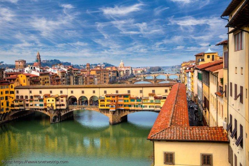 Понте-Веккьо – дурно пахнущий мост в средние века и золотой мост современности
