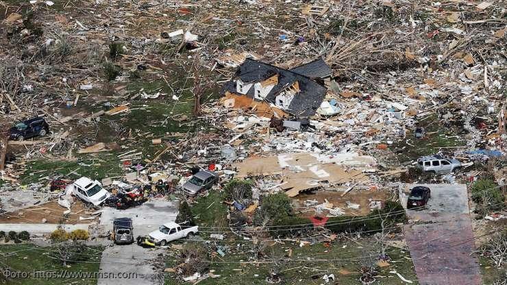 На США обрушились сразу несколько торнадо