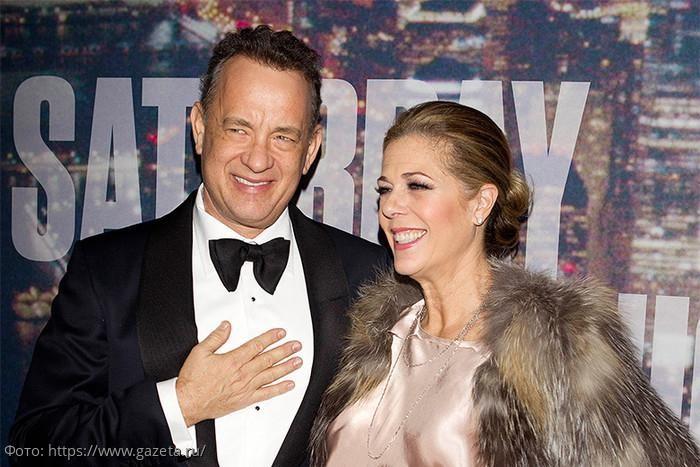 Том Хэнкс и его жена заражены коронавирусом