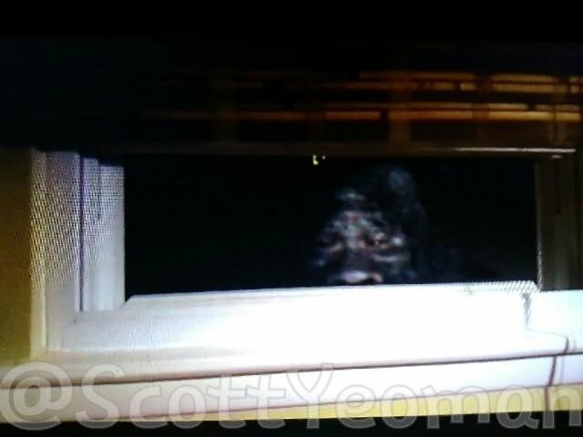 Американец сделал фото йети, подглядывающего в его окно
