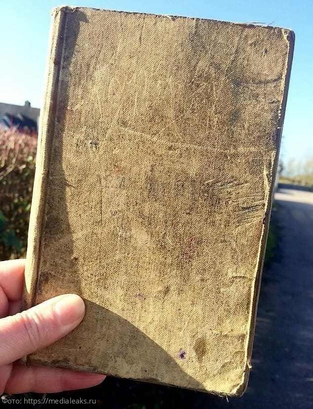 Англичанин обнаружил в сарае старую тетрадь, но не выкинул. В существование этой реликвии не верили даже историки