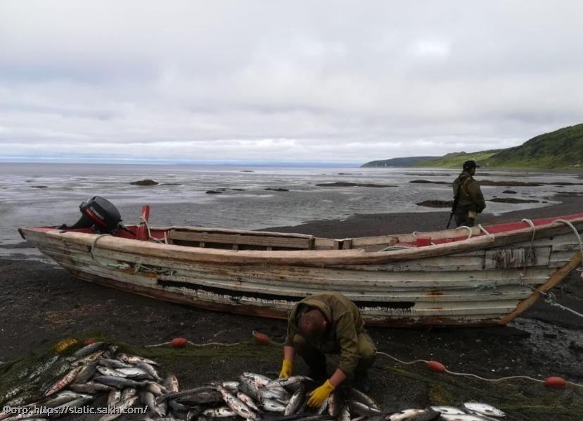 В Приморско-Ахтарском районе пресечена незаконная добыча водных биоресурсов