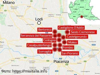 Италия продолжает занимать первое место по количеству зараженных коронавирусом