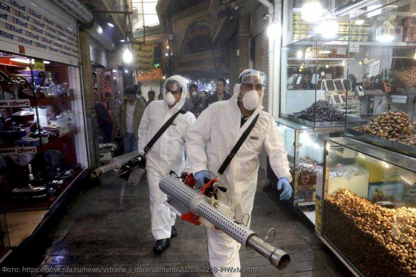 Россия закрыла границу с Ираном из-за коронавируса