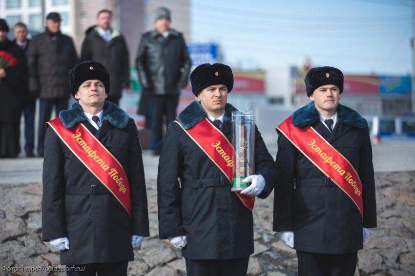 Кубань принимает Эстафету Победы