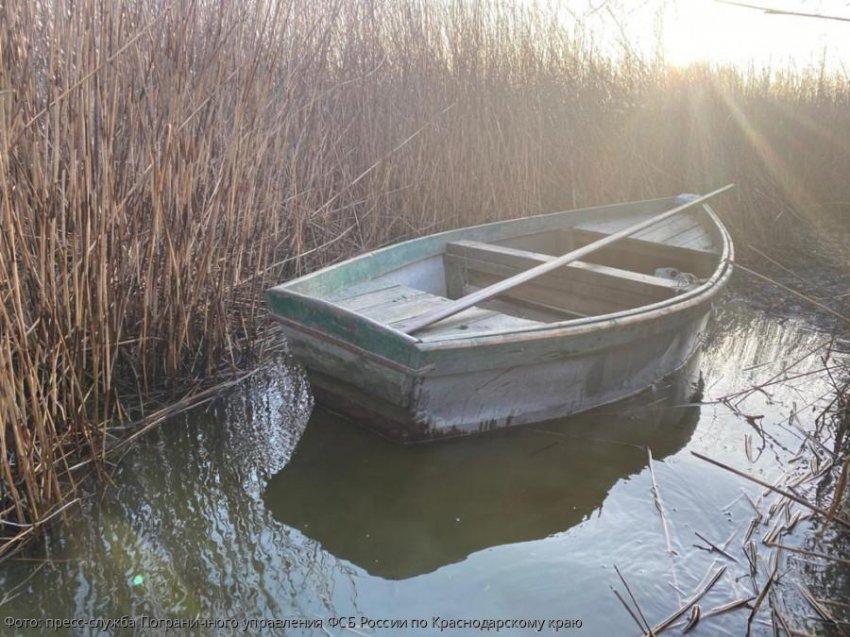 Сотрудники Погрануправления по Краснодарскому краю выявили местного жителя, незаконно добывающего водные биоресурсы