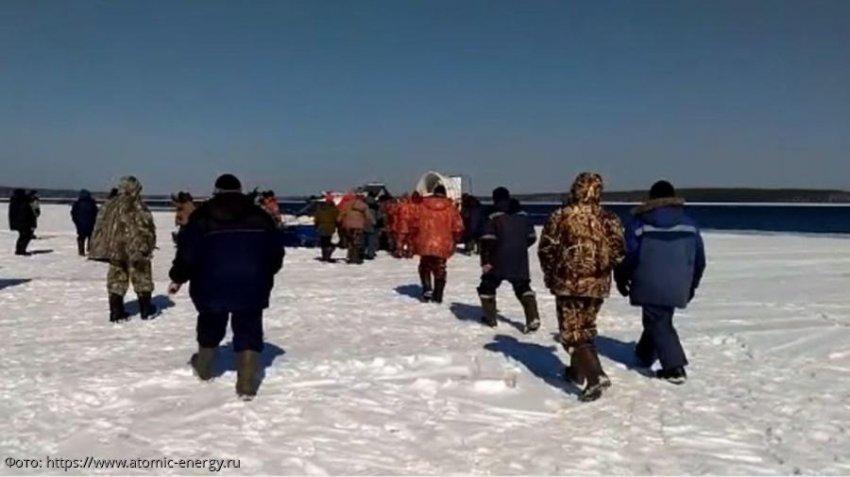 354 свердловских рыбака спасены с дрейфующей льдины