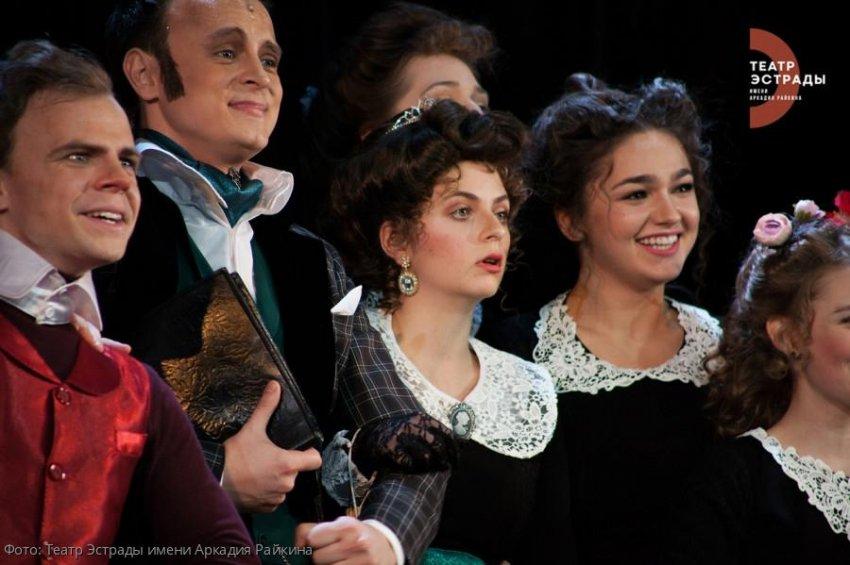 26 марта в 19.00 Театр Эстрады им. А.Райкина проведет прямую трансляцию спектакля «Крокодил души моей»