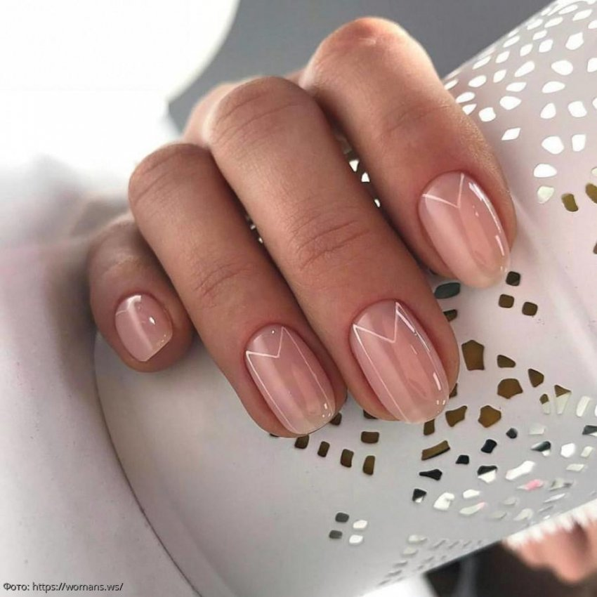 Дизайн ногтей на короткие ногти 2020