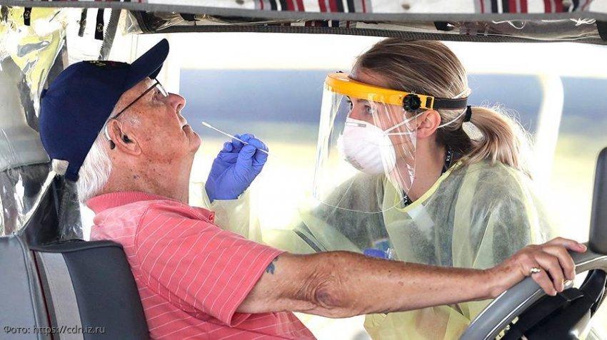 США вышли на первое место по количеству зараженных коронавирусом
