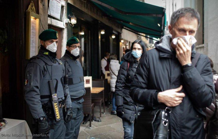 В Италии за выходные зафиксировали около 20 тысяч нарушения карантина