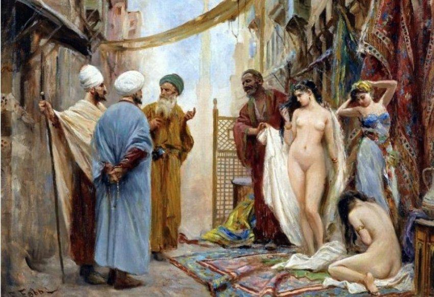 Сколько русских рабынь удерживались в Западной Европе?