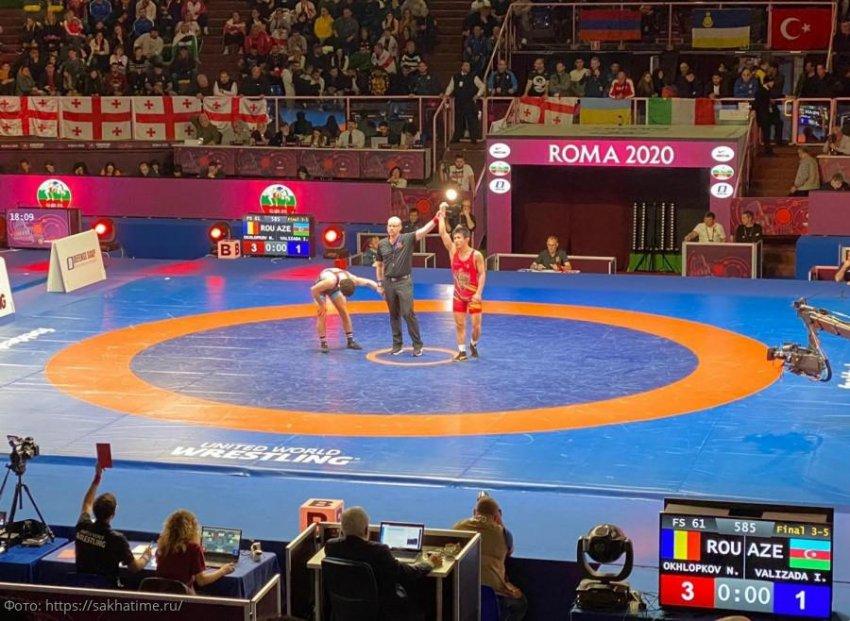 Чемпионат Европы по вольной борьбе 2020