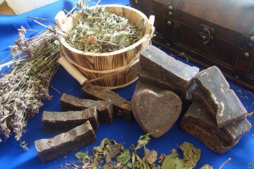 Дегтярное мыло и берёзовый дёготь — абсолютно натуральное средство