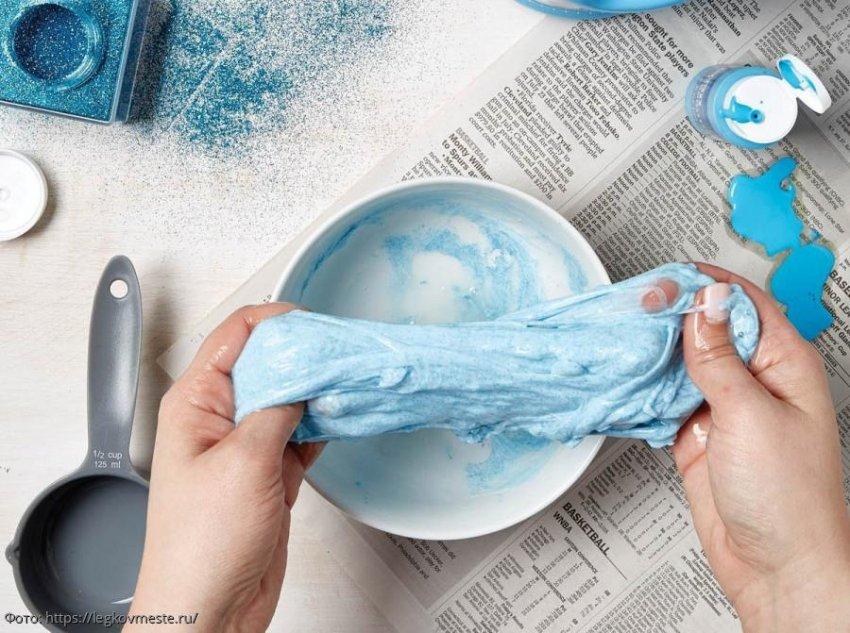 Как сделать слайм без тетрабората натрия