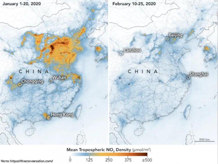 Как загрязнение воздуха влияет на уровень смертности от коронавируса