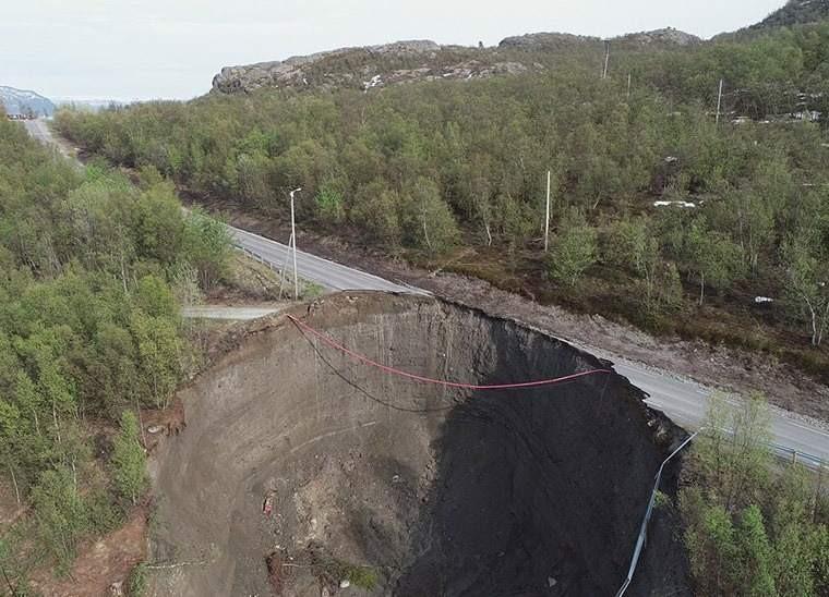 Два огромных оползня за три дня: Норвегию смывает в море? - Паранормальные новости
