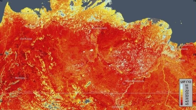 В Сибири из-за повышения температуры может начать выделяться метан