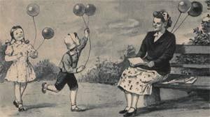 Детство без игрушек способствует активации детской фантазии