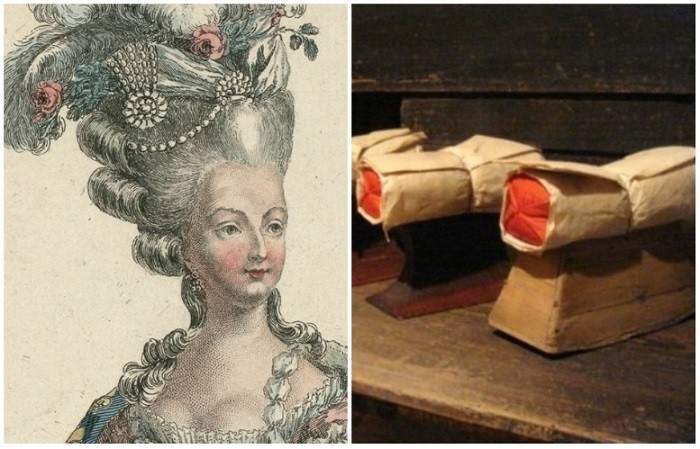 Муки аристократок в XVIII веке, чтобы не испортить 1,5-метровую прическу