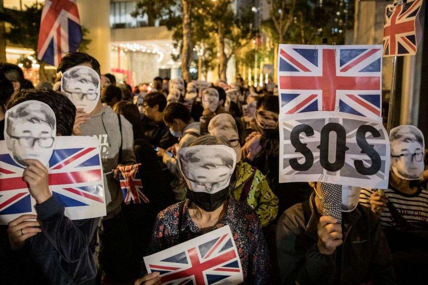 Британское предложение гражданства Гонконгу нарушает сделку Тэтчер с Китаем