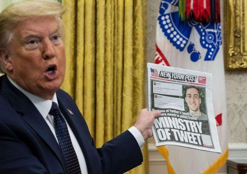 Атаки Дональда Трампа в социальных сетях угрожают свободе слова всех американцев