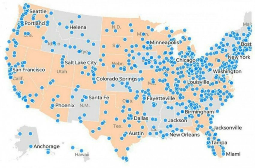 Что скрывается за картой протестов в Америке