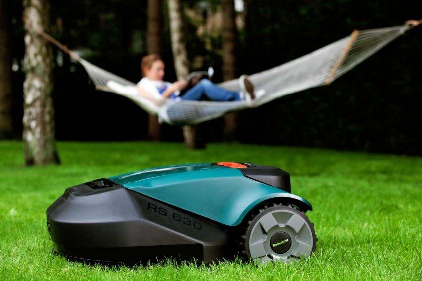 ТОП 10 газонокосилок роботов