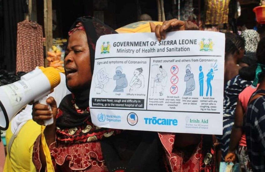 Сьерра-Леоне: опасность коронавируса усиливается наступающим сезоном дождей