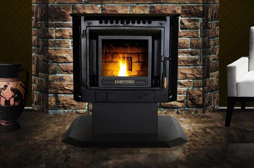 ТОП 10 лучших газовых печей для дома